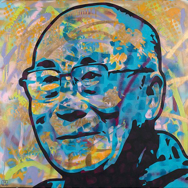 Dalai Lama Painting